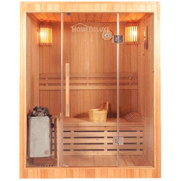 classic designer sauna henric f r 2 3 person. Black Bedroom Furniture Sets. Home Design Ideas