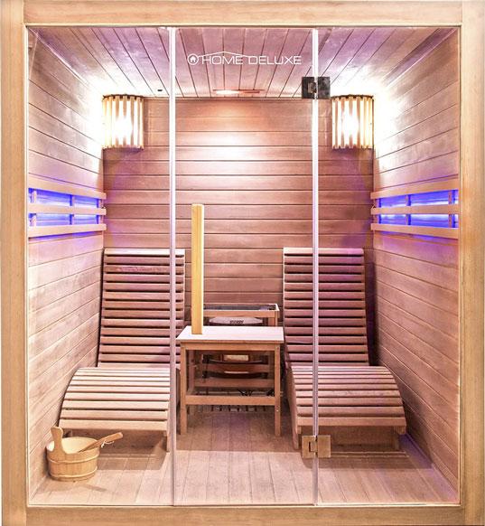 traditionelle designer sauna horizon f r 2 person. Black Bedroom Furniture Sets. Home Design Ideas